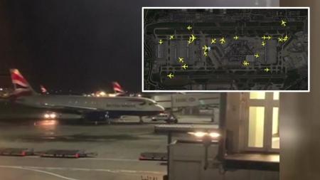 영국에 또 드론 사태...이번엔 히스로 공항 마비