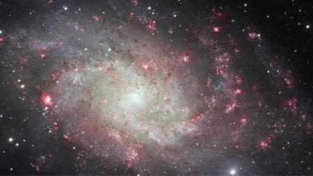 삼각형자리 은하 초고해상도 이미지 공개