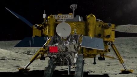 中 창어 4호, 밤 시간 달 표면 온도 측정 시도