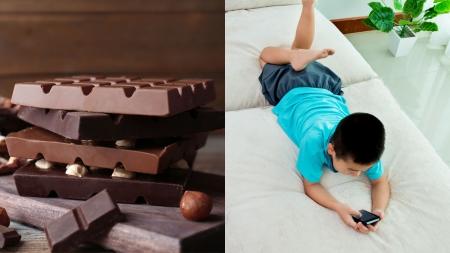 [과학본색] 초콜릿, 먹어도 될까?…스마트폰 과의존 유아동 주의
