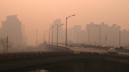 중국 공기 좋아졌다더니...1월 中 북부 대기 질 악화