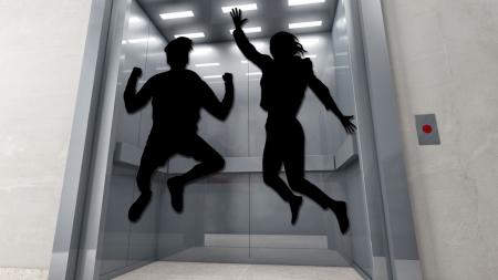 [궁금한 S] 떨어지는 엘리베이터에서 위로 뛰면 살 수 있을까?