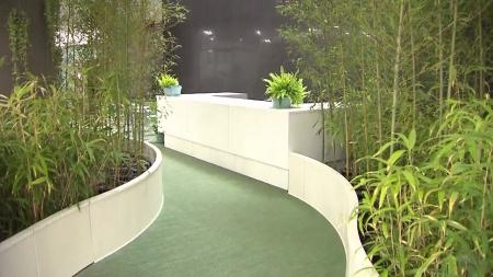 35m 깊이 녹사평역, '지하 예술 정원' 탈바꿈