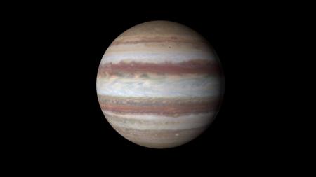 목성, 45억년 전 원시행성과 정면충돌