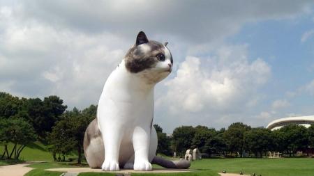 [과학본색] ①거대 고양이가 뛰노는 AR 동물원