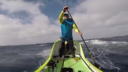 [지구촌 사이언스] 76일 만에 태평양 4,023km 횡단한 사나이