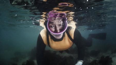 [줌 인 피플] 물속 이야기를 사진에 담다…수중사진작가 와이진