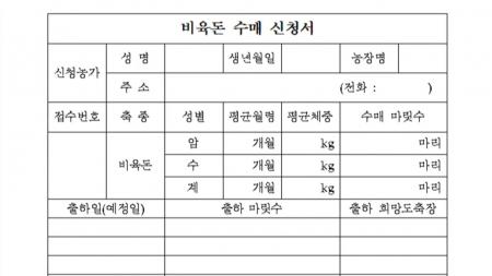 경기도, 119개 소규모 양돈농가 돼지 수매 폐기