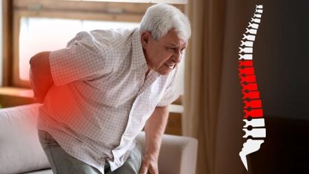 [내 몸 보고서] 노년 건강 위협…골다공증성 척추 압박골절