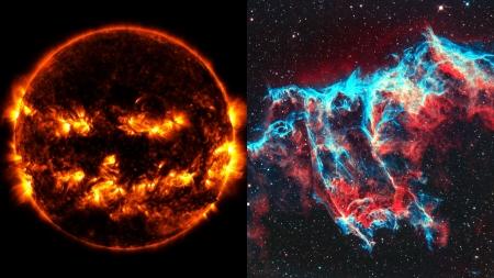 [과학본색] ① 핼러윈 맞아 공개된 무시무시한 우주 사진