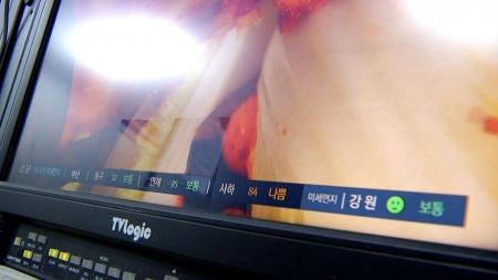 YTN 사이언스, 미세먼지 데이터방송 시작 이미지