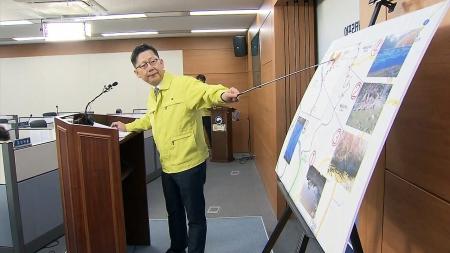 """""""돼지 살처분·매몰 엇박자""""...농식품부 장관 사과"""