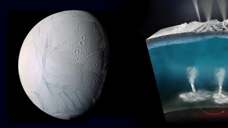 [별별이야기] 물 뿜는 토성의 위성…엔켈라두스