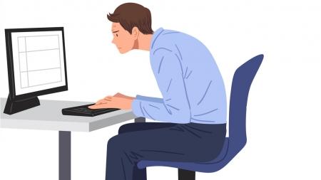 [내 몸 보고서] 현대인 괴롭히는 만성질환, 일자목 증후군