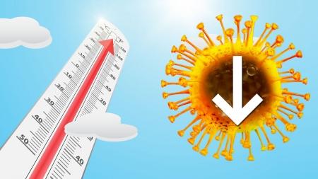 따뜻해지면 없어진다던 코로나19…기온 상승에 큰 영향 없을 듯