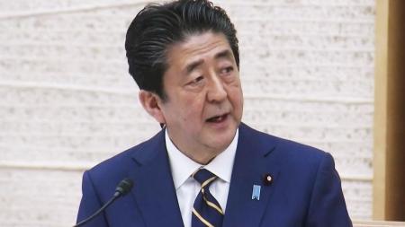 """아베 총리 '긴급사태' 선언...""""힘 합쳐 위기 넘자"""""""