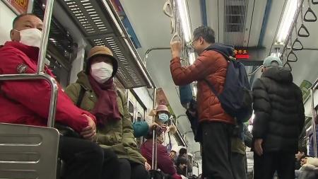 서울 지하철 혼잡할 때 마스크 없이 못 탄다