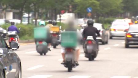 코로나19로 배달 급증하더니...오토바이 사망 13% 증가
