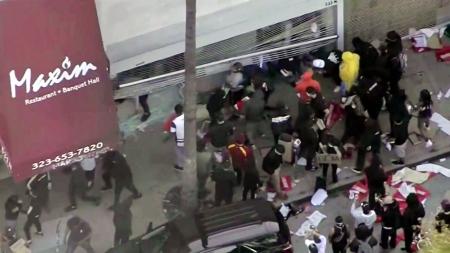美 '흑인 사망' 시위, 새로운 코로나19 '전파 경로' 되나