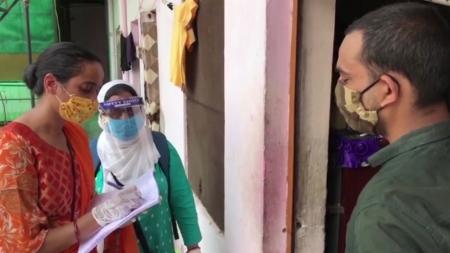 인도 누적 확진자 세계 3번째로 많아져…70만 명 육박