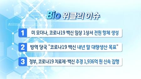 [바이오위클리] 단백질 구조 분석해 코로나19 맞춤 치료제 개발!