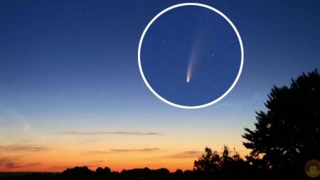 [사이언스 핫파이브] 혜성 맨눈으로 관측…7월 셋째 주 과학 이슈
