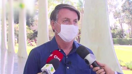 코로나19 걸렸던 브라질 대통령 3주 만에 정상업무 복귀