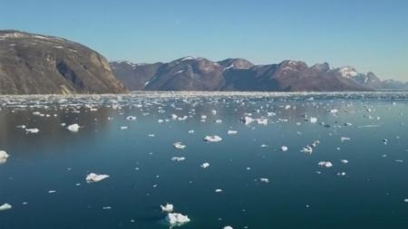 태평양에 살던 동물 플랑크톤, 북극 바다에서 발견