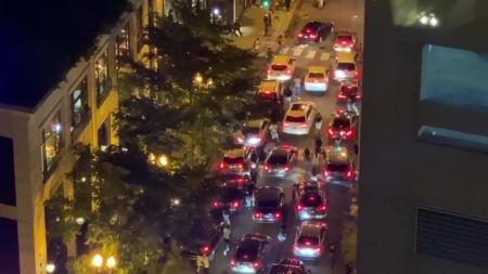 美 시카고 번화가 폭동·약탈...경찰과 총격전도