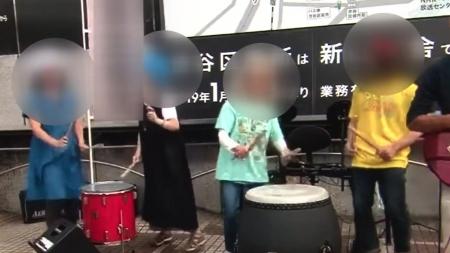 """""""마스크 거부·코로나19는 감기""""...日 논란의 집회 현장"""