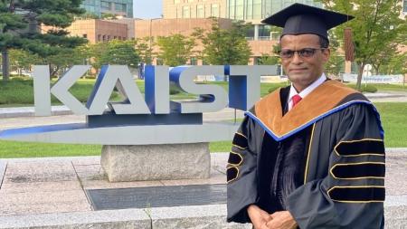 에티오피아 현직 장관, 카이스트 박사 학위 취득