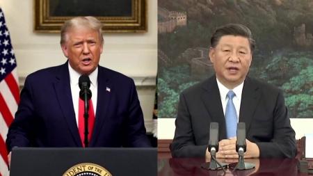 """트럼프 """"中에 책임 물어야""""...시진핑 """"정치화 안 돼"""""""