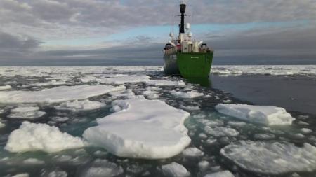 북극해 얼음 면적 역대급 감소...관측 사상 두 번째로 작아
