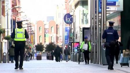 아일랜드, 유럽 첫 봉쇄조치...6주간 비필수 업종 영업 중단
