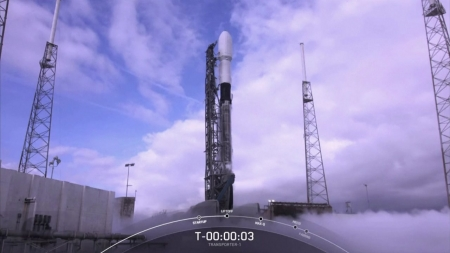 스페이스X 팰컨9, 위성 143대 지구 궤도 배치 신기록