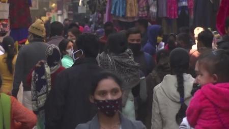 인도 뉴델리 '집단면역 형성' 근접...주민 50% 이상 항체 보유