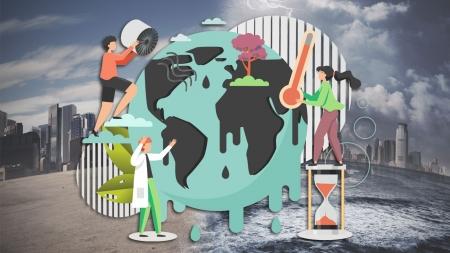 """[날씨학개론] 탄소 배출 줄이지 않으면 2100년엔 한반도 평균 기온 7℃ 상승…""""인류 재앙 초래"""""""