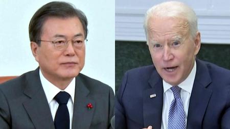"""靑 """"5월 한미정상회담, 한반도 비핵화 진전 모멘텀"""""""