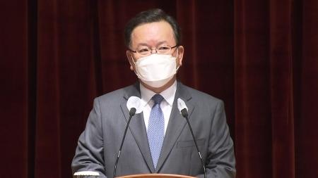 """김부겸 """"코로나 위기 속에서 온 국민 통합 매진할 것"""""""