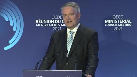 코먼 OECD 신임 사무총장 취임...기후변화 대응 약속