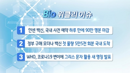 [바이오위클리] 코로나19· 신속 분자진단키트…바이오니아