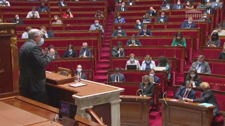 프랑스 의회, 반대 많은 '백신 여권' 시행법 통과