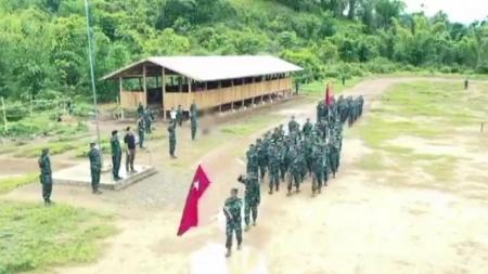 미얀마 민주진영, 군부에 전쟁 선포...내전 신호탄