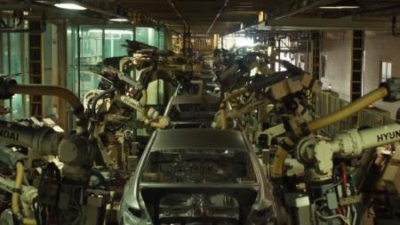 '반도체 수급난' 현대차 아산공장 생산 재개
