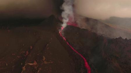 라팔마섬 화산 용암 분출 일주일째...추가 폭발 우려