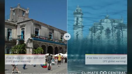 """""""지구 기온 3도 오르면 상하이, 나폴리 등 50개 도시 물에 잠긴다"""""""