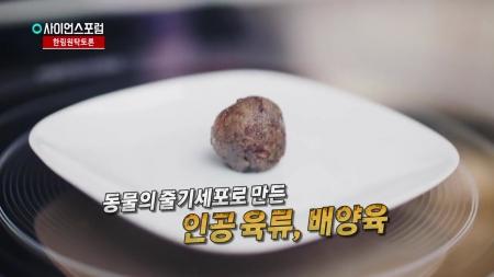 [한림원탁토론회] 배양육, 미래의 먹거리일까?