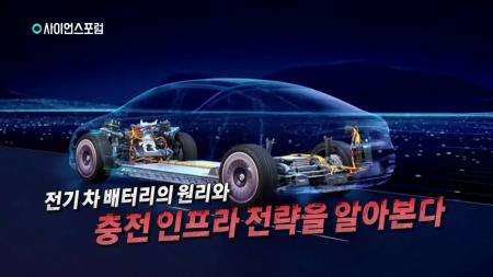 전기 차 배터리와 충전 인프라