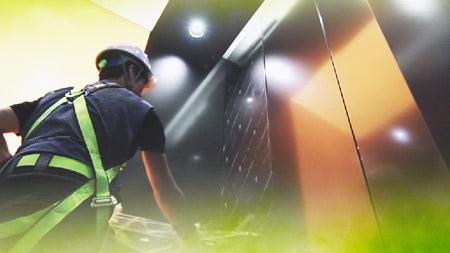 더 빠르고 더 안전하게 가장 높은 곳을 향하다 - 현대엘리베이터
