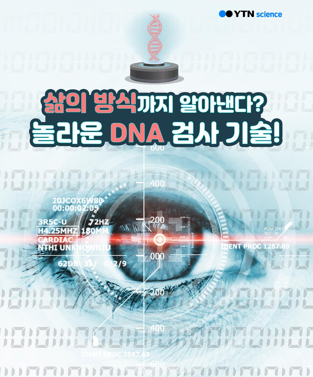 삶의 방식까지 알아낸다? 놀라운 DNA 검사 기술! 이미지